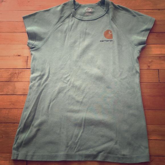 Carhartt Tops - vintage Carhartt short sleeve top